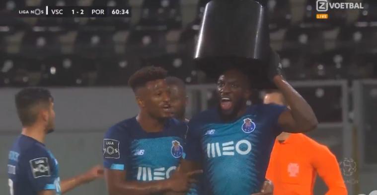 FC Porto-spits Marega wordt racistisch bejegend, krijgt geel en loopt van veld af