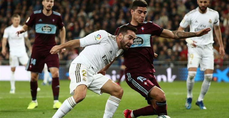 Real laat zich verrassen: Celta vloert Courtois twee maal bij terugkeer Hazard