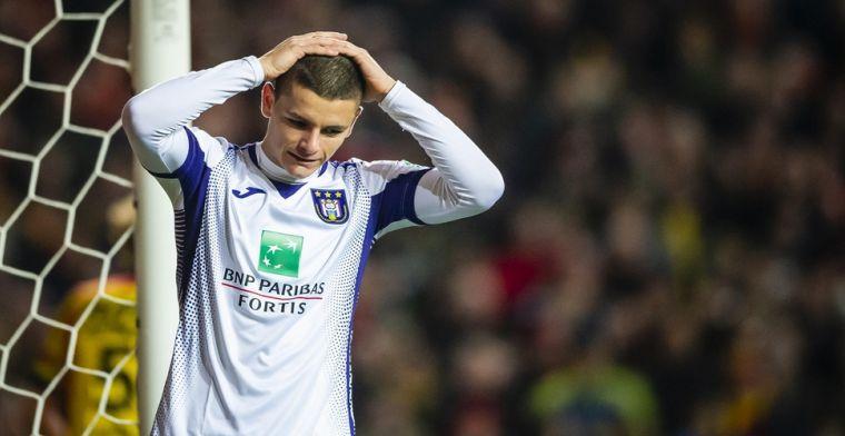 Joveljic kende moeilijke avond met Anderlecht: 'Maar hij toonde potentieel'
