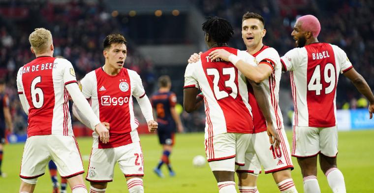 Ajax wint op halve kracht van RKC Waalwijk en lijkt klaar voor Getafe