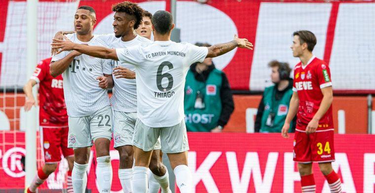 Bayern overtreft storm Dennis en walst in klein kwartier over Köln heen