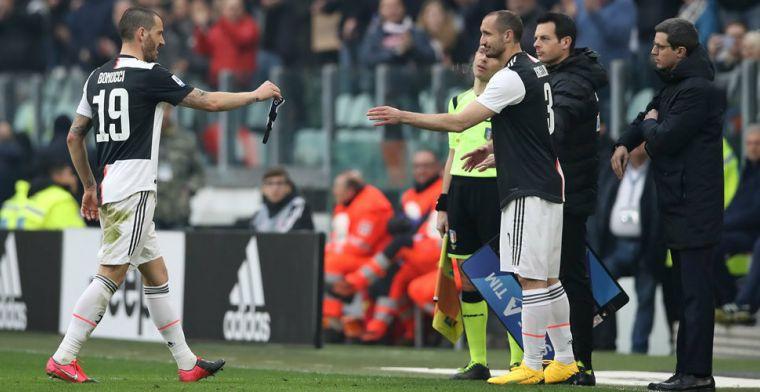 Chiellini 'liet zichzelf invallen': 'Shirt aan en vragen wanneer hij erin kwam'