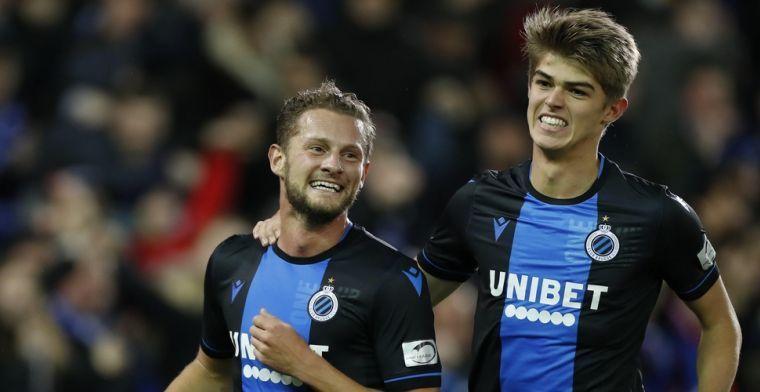 Rits laat zich bij Club Brugge uit over concurrentiestrijd met Balanta
