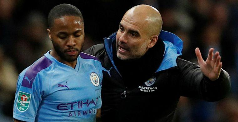 'Manchester City krijgt toch nog goed nieuws: Guardiola en Sterling blijven aan'