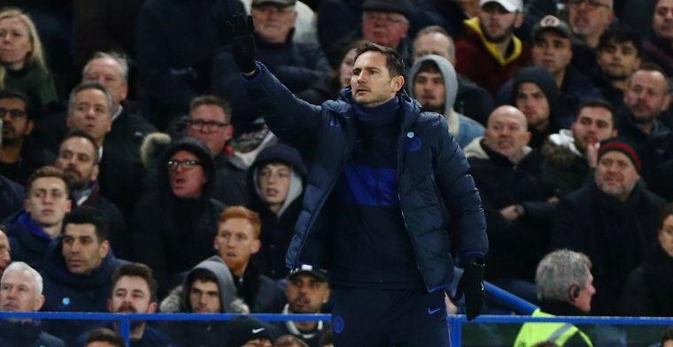 Lampard gefrustreerd na verlies tegen Man United: 'Hier is de VAR juist voor'
