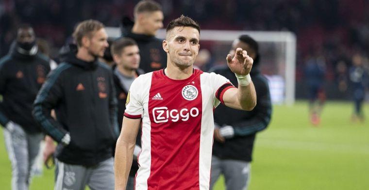Tadic kijkt Barcelona-wedstrijd en is gewaarschuwd: Maar we zijn wel Ajax