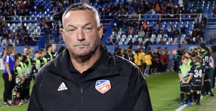 Jans (ex-Standard) stapt op als trainer van Cincinnati na racisme-incident