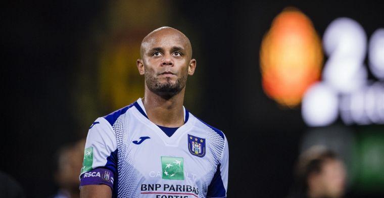 Zorgt aanwezigheid Kompany voor puntenverlies Anderlecht? 'Het kan kantelen'