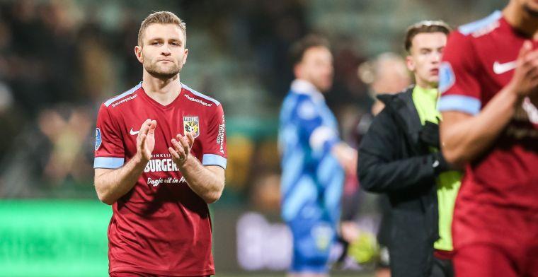 Vitesse-nieuweling geniet in Arnhem: 'Het niveau in de Eredivisie is veel hoger'