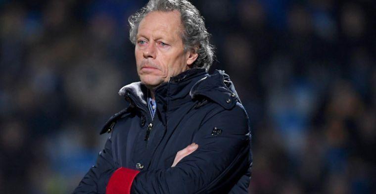 """Standard was tegen KRC Genk weer vintage Preud'homme"""""""
