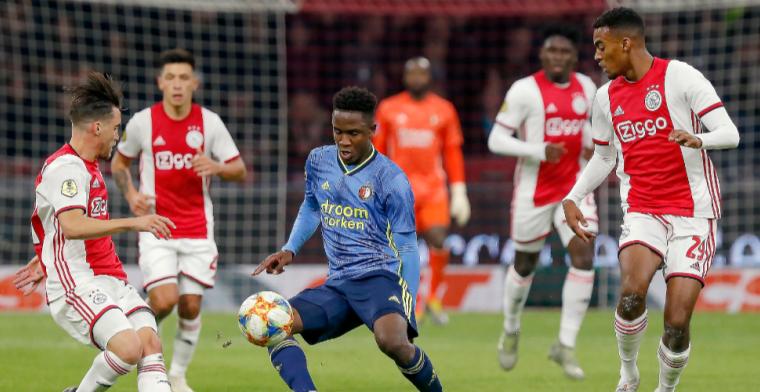 SV Ajax hoopt op uitfans bij 'Eredivisie-klassiekers': 'Is aan gemeente Rotterdam'
