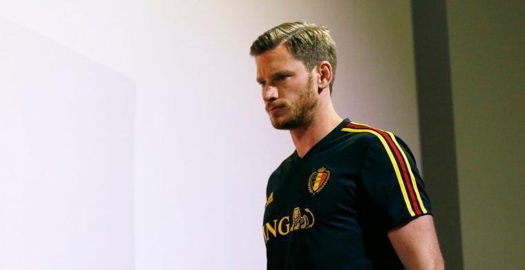 """Vertonghen moet zich geen zorgen maken: """"Martinez zet hem niet naast de ploeg"""