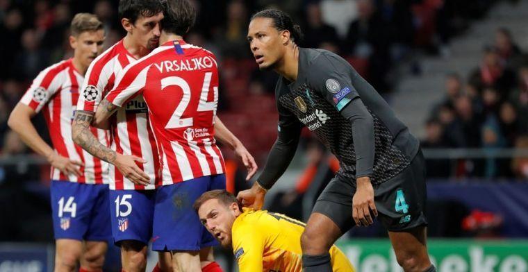 Atlético vreest Anfield niet: 'Waarschijnlijk zakt het voor de UEFA-inspectie'