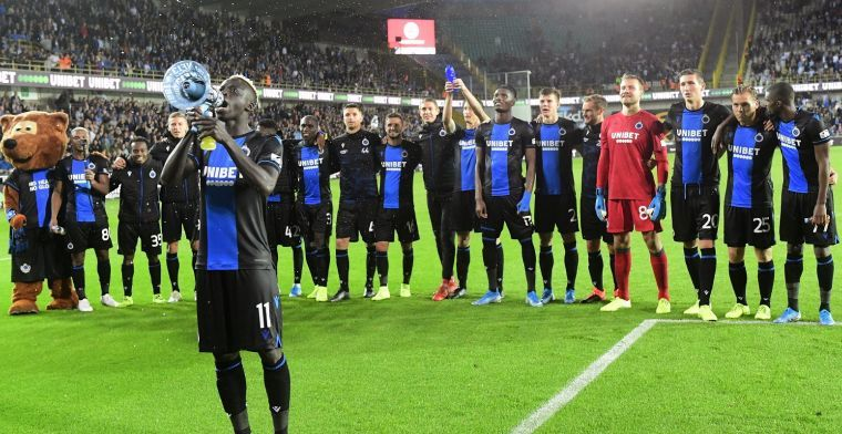 Diatta laat zich uit over zijn toekomst bij Club Brugge: Ik zit hier goed