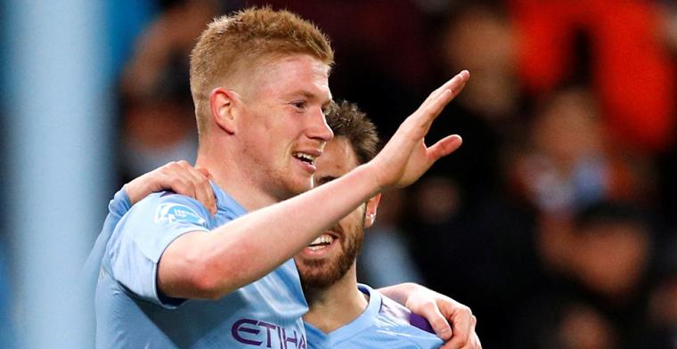 Door UEFA geteisterd Manchester City vergroot gat met Leicester City weer tot vier