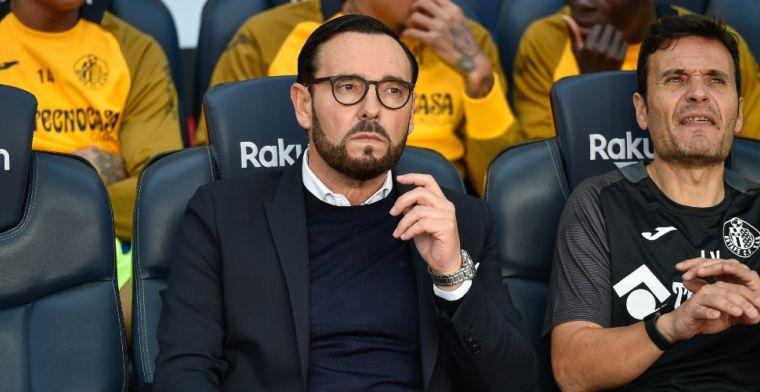 Getafe-coach Bordalás niet bang voor Ajax: 'Spelen tegen clubs als Real en Barça'