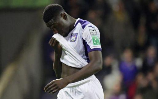 Domper voor Anderlecht: 'Luckassen loopt scheurtje op en is zes weken out'