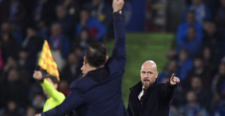 Spaanse media fileren Ajax, Ten Hag én Van de Beek na rampavond tegen Getafe