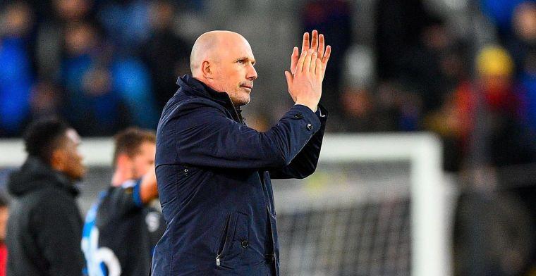 Clement laakt wedstrijdleiding na gelijkspel: Het was een duidelijke penalty
