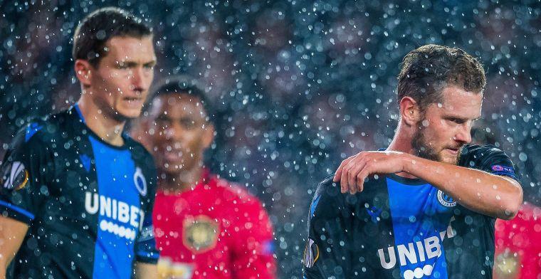 Club Brugge kan sterke helft niet verzilveren, United pakt punt in Jan Breydel