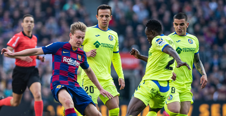 De Jong waarschuwt oud-teamgenoten: 'Zwaarste tegenstander die Ajax kon loten'