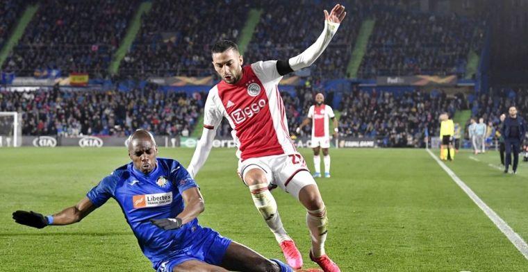 Felle Ziyech roept vak met Ajax-fans tot de orde na 'aanstekerincident'