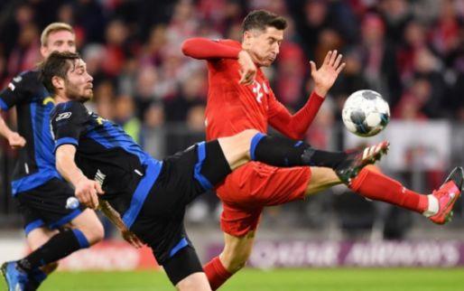 Afbeelding: Hekkensluiter Paderborn dwingt Bayern tevergeefs tot het uiterste in Allianz Arena
