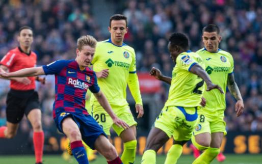 'Gefrustreerde' Frenkie de Jong keek naar Getafe - Ajax: