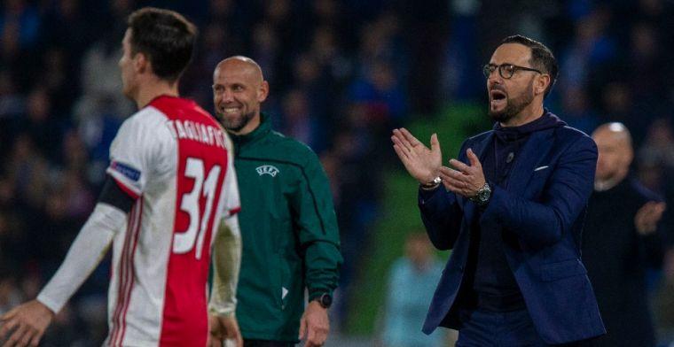Bordalás looft 'geweldig team' Ajax: 'Zijn nog steeds favoriet, zonder twijfel'