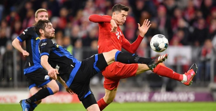 Hekkensluiter Paderborn dwingt Bayern tevergeefs tot het uiterste in Allianz Arena