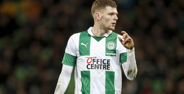 'FC Groningen krijgt slecht nieuws over linksback Warmerdam'