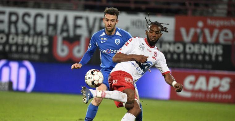 KV Kortrijk razend na verlies tegen KRC Genk: Duidelijke penaltyfout op Mboyo
