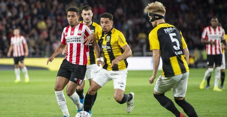 'Het stadion staat er al 22 jaar en Vitesse won in GelreDome nog nooit van PSV?'