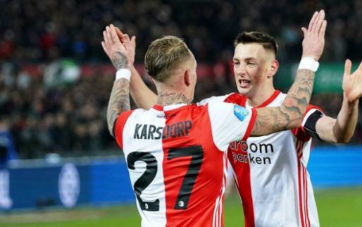 Matige editie van Feyenoord-Fortuna gekleurd door arbitrage: krappe zege Feyenoord