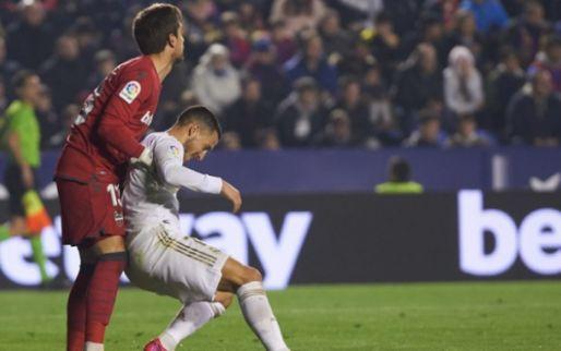 Afbeelding: Klap op klap voor Real Madrid: verlies, blessure Hazard, koppositie kwijt