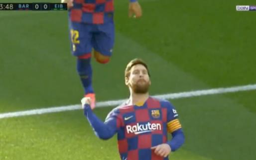 Camp Nou is weer tevreden: Messi krijgt publiek op de banken met lekkere sologoal