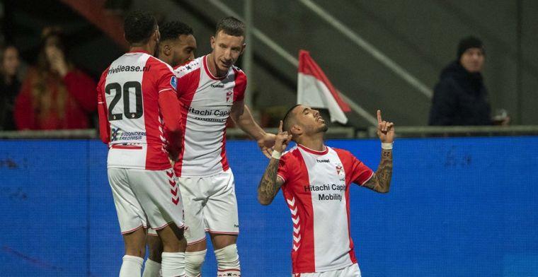 Emmen rekent dankzij Peña en drie doldwaze minuten af met Willem II