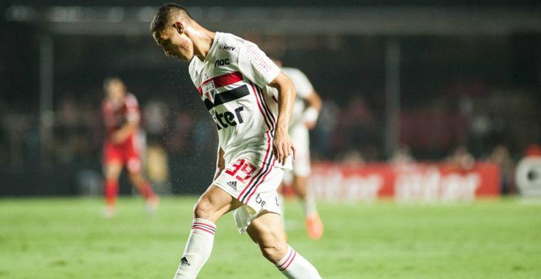 Antony reageert op Ajax-transfer: 'Wilde alleen weg bij goed bod voor São Paulo'