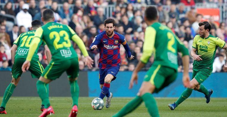 Messi vindt zijn vorm: Barça met vertrouwen naar Napoli en Real