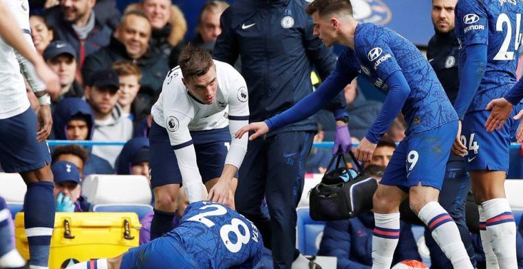 Chelsea-woede om VAR: 'Niet mijn fout dat hij op mijn been staat...'