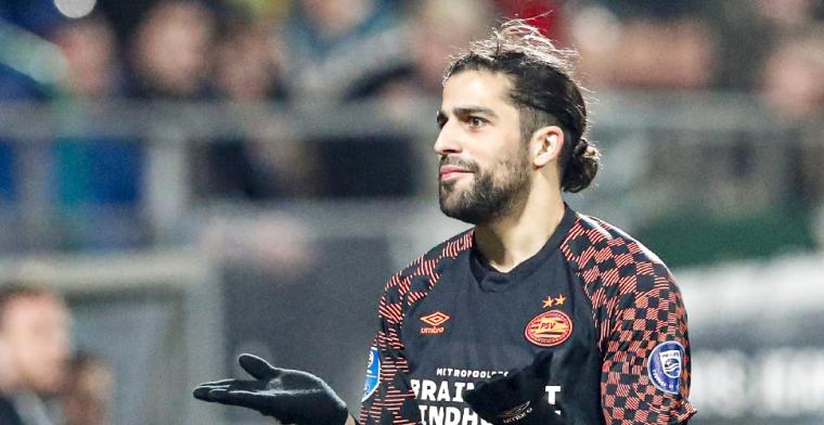 Rodríguez eerlijk: Voorlopig zit ik prima op mijn plek bij PSV