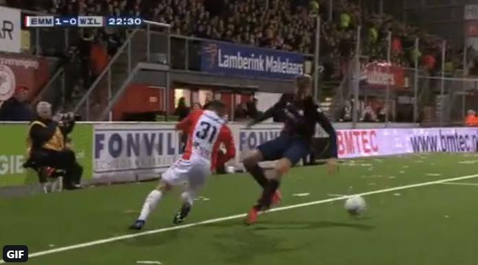 Koekoek! Frei zet Nieuwkoop te kijk met zéér geniepige panna bij Emmen-Willem II