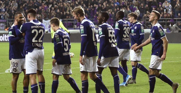 """Anderlecht blijft geloven in de jonkies: """"Play-Off 2 zou geen ramp betekenen"""""""