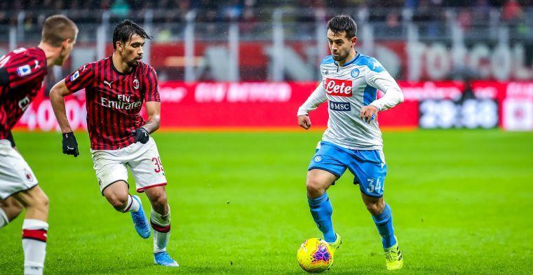 Voormalig Ajacied wil Napoli niet verlaten: 'Niet koste wat het kost een transfer'