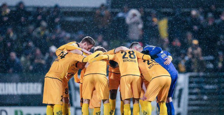 Sporting Lokeren geeft overwinning in de slotfase nog uit handen