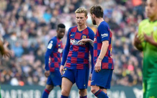 Frenkie de Jong: 'Die positie bestaat niet bij Barça, mensen begrijpen het niet'
