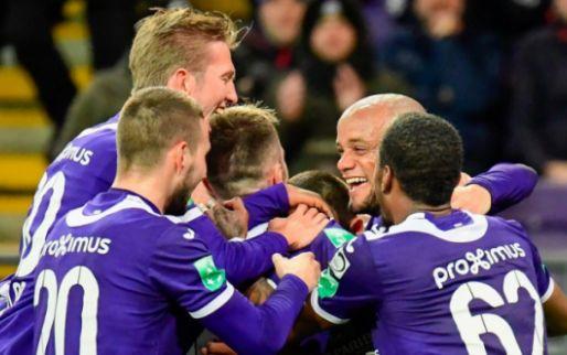 Anderlecht zorgt voor doelpuntenfestival in poepsimpele zege tegen KAS Eupen