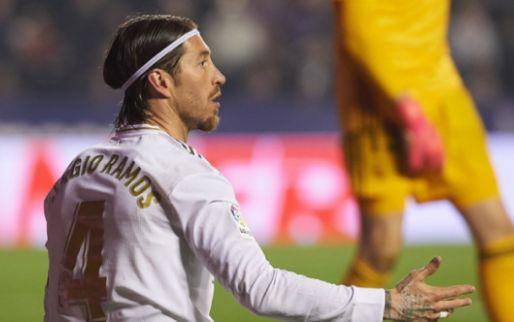 Ramos haalt uit na nederlaag Real Madrid: 'Vroeg of hij probleem met mij heeft'