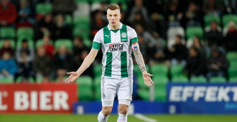 'Iedereen vraagt me dat, maar ik richt me nog steeds op FC Groningen'