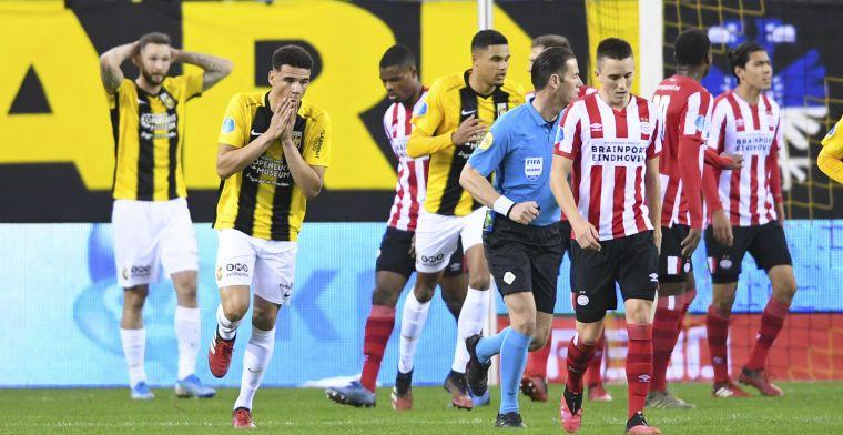 Higler grijpt niet in en zet kwaad bloed bij Vitesse: 'Ik vind het onbegrijpelijk'